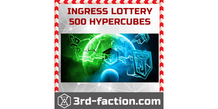 March Ingress Lottery starts... Win 500 Hypercubes!