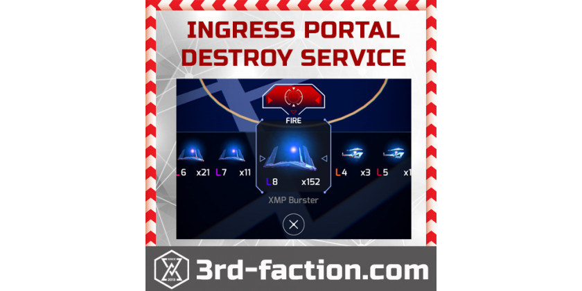 How to order any Ingress Portal Destroy?