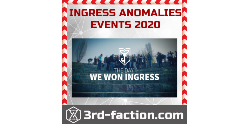 Ingress Anomalies and Events for 2020 year
