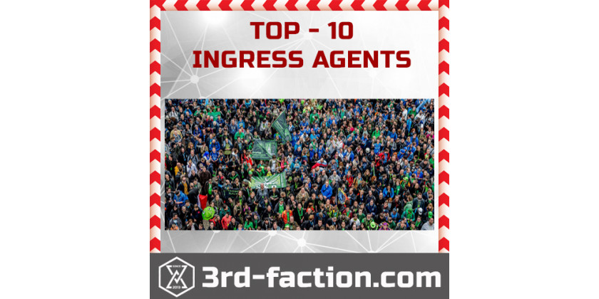 TOP-10 Ingress Agents rating UPDATE...