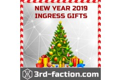 Christmas & New Year 2019 Ingress Gifts for all agents