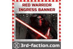 3RD Faction Red Warrior Banner is waiting for you...